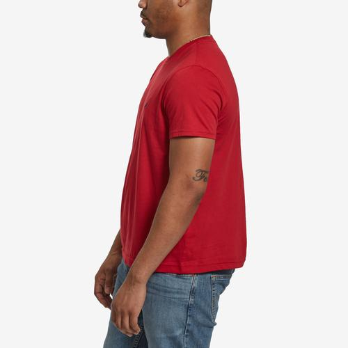 Right Side View of Nautica Men's Solid Crew Neck Short Sleeve T-Shirt