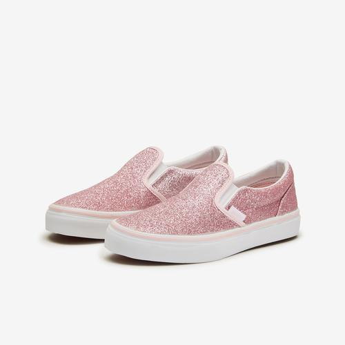 Vans Girl's Preschool Glitter Slip-On Shoes