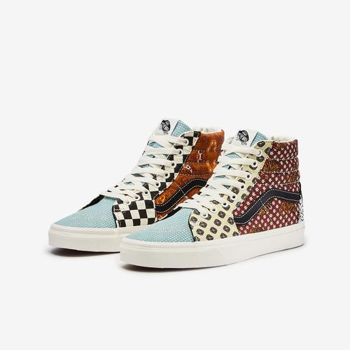 Vans Men's Sk8-Hi Tiger Patchwork