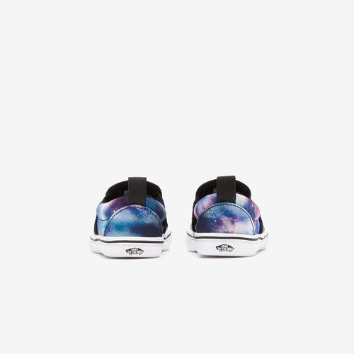 Third view of Boy's Toddler Galaxy Comfycush Slip-Ons by Vans