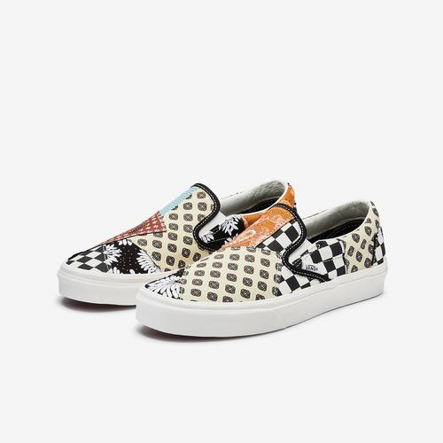 Vans Men's Tiger Patchwork Classic Slip-On