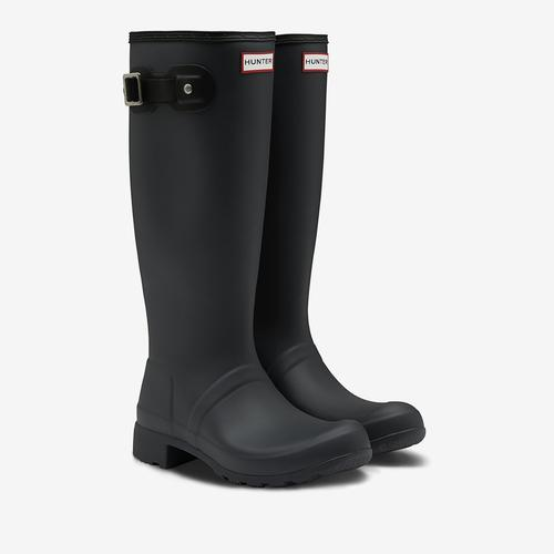 Second view of Women's Original Tour Foldable Tall Rain Boots by HUNTER