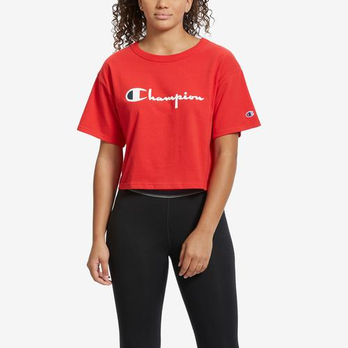 First view of Women's Heritage Crop T-Shirt by Champion