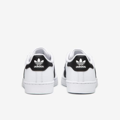 Back View of adidas Men's Superstar Foundation Sneakers