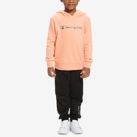 Champion Girl's Toddler Logo Hoodie Set..