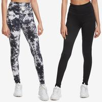 Poof Women's Leggings Set, 2 pack..
