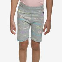 Champion Girl's All Over Print Bike Shorts..