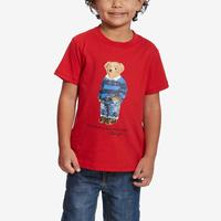 Polo Ralph Lauren Boy's Preschool Cotton Jersey Crewneck Tee..