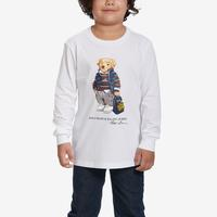 Polo Ralph Lauren Boy's Preschool Basic Jersey Long Sleeve Tee..