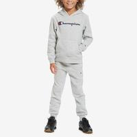 Champion Boy's Toddler Script Hoodie Set..