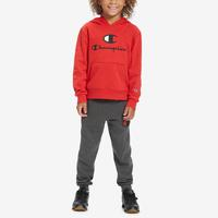 Champion Boy's Toddler Large Script Hoodie Set..