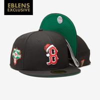 New Era Boston Red Sox 59Fifty Christmas Fitted Hat..