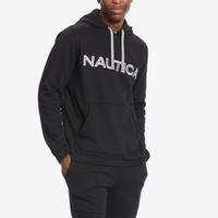 Nautica Men's Long Sleeve Pullover Fleece Hoodie..