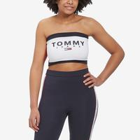 Tommy Jeans Women's Logo Bandeau Top..