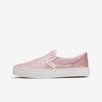 Vans Girl's Preschool Glitter Slip-On Shoes..