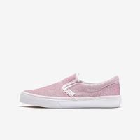 Vans Girl's Grade School Classic Glitter Slip On ..